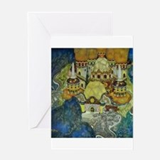 Serbian Fairy Tale - Bashtchelik Greeting Card