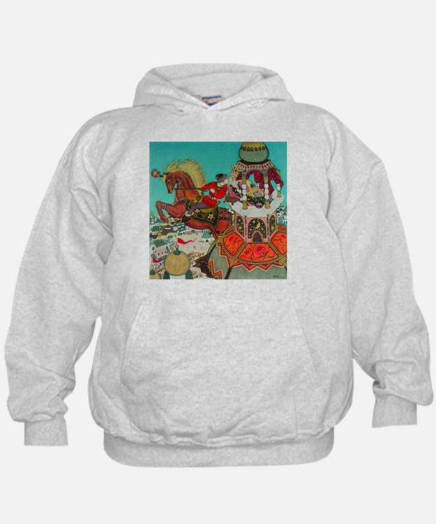 Russian Fairy Tale - Ivan and Chestnut Hoodie