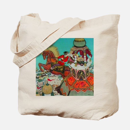 Russian Fairy Tale - Ivan and Chestnut Ho Tote Bag