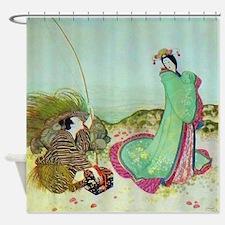 Japanese Fairy Tale - UrashimaTar Shower Curtain