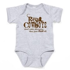 Real Cowboys Baby Bodysuit