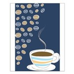 Retro Coffee Art Small Poster