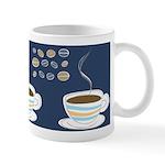 Retro Coffee Art Ceramic Coffee Mug