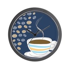 Retro Coffee Art Wall Clock