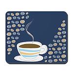 Retro Coffee Art Mousepad