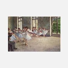 Degas ballet art Magnets