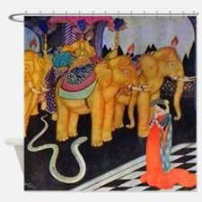 Italian Fairy Tale - The Serpent Pr Shower Curtain