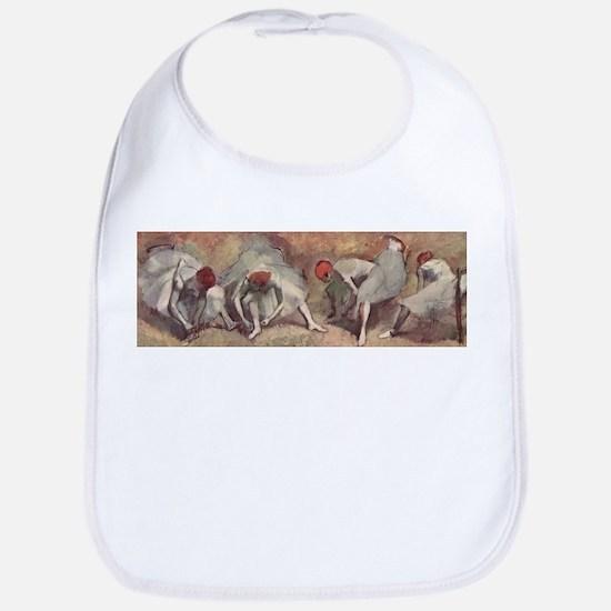 Degas ballet art Bib