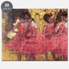 Degas ballet art Puzzle