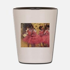 Degas ballet art Shot Glass