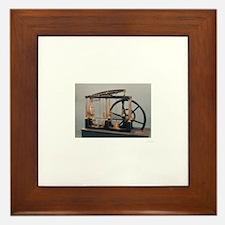 Steam Engine Framed Tile