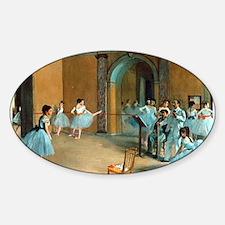 Degas ballet art Decal