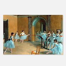Degas ballet art Postcards (Package of 8)
