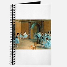 Degas ballet art Journal