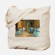Degas ballet art Tote Bag