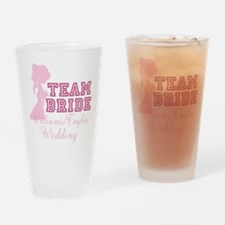 Team Bride Custom Drinking Glass