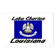 Lake Charles Louisiana Postcards (Package of 8)
