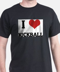 Cute Love kickball T-Shirt