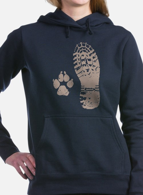 Cute Hiking Women's Hooded Sweatshirt