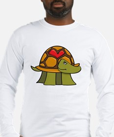 Turtle Shell Heart Long Sleeve T-Shirt