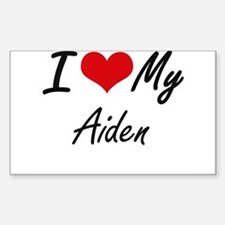 I Love My Aiden Decal
