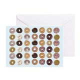 Donut Greeting Cards (20 Pack)