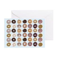 Lots of Donuts Greeting Cards (Pk of 20)