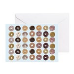 Lots of Donuts Greeting Cards (Pk of 10)