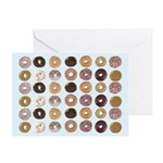 Lots of Donuts Greeting Card