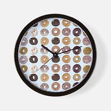 Lots of Donuts Wall Clock