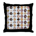 Lots of Donuts Throw Pillow