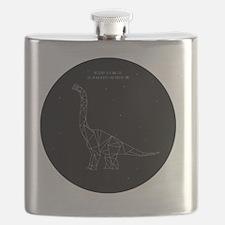 Funny Jurassic park Flask