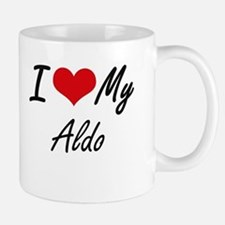 I Love My Aldo Mugs