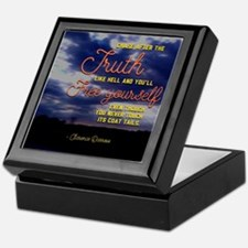 Chase After The Truth Keepsake Box