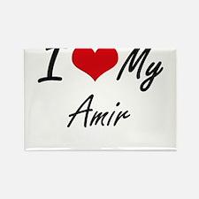 I Love My Amir Magnets
