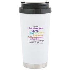 Bible verse fruit of the spirit Travel Mug
