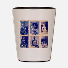 meeting of the buddhas Shot Glass