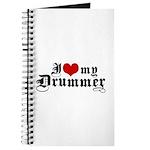 I Love My Drummer Journal