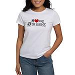I Love My Drummer Women's T-Shirt