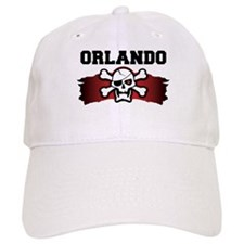 orlando is a pirate Baseball Cap