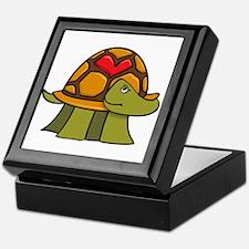 Turtle Shell Heart Keepsake Box