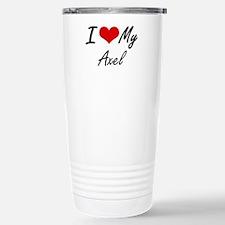 I Love My Axel Travel Mug