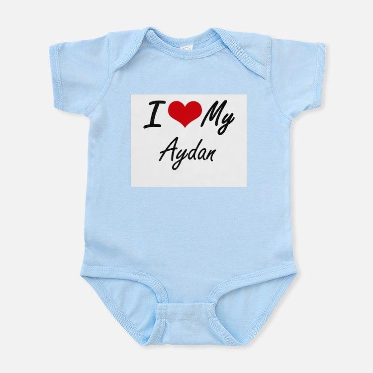 I Love My Aydan Body Suit