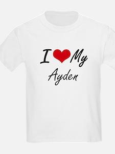 I Love My Ayden T-Shirt