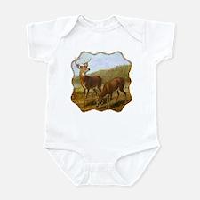 Deer by Lake Infant Bodysuit