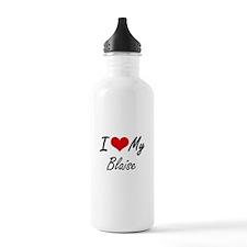 I Love My Blaise Water Bottle