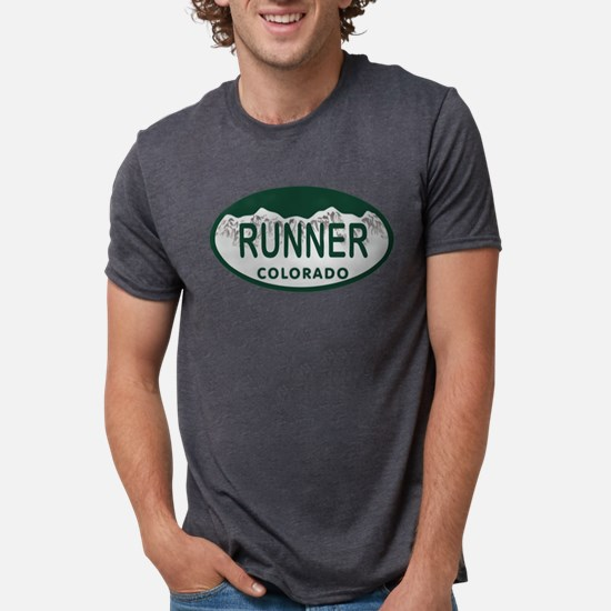 Runner Colo License Plate T-Shirt
