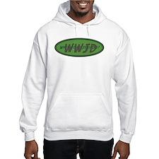 Green WWJD Hoodie