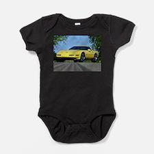 Cute Chrome Baby Bodysuit