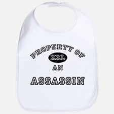 Property of an Assassin Bib